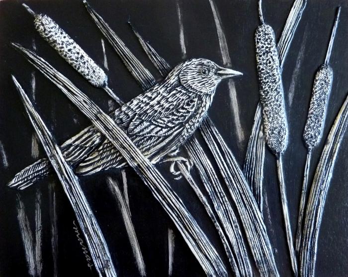 Cattail Bird