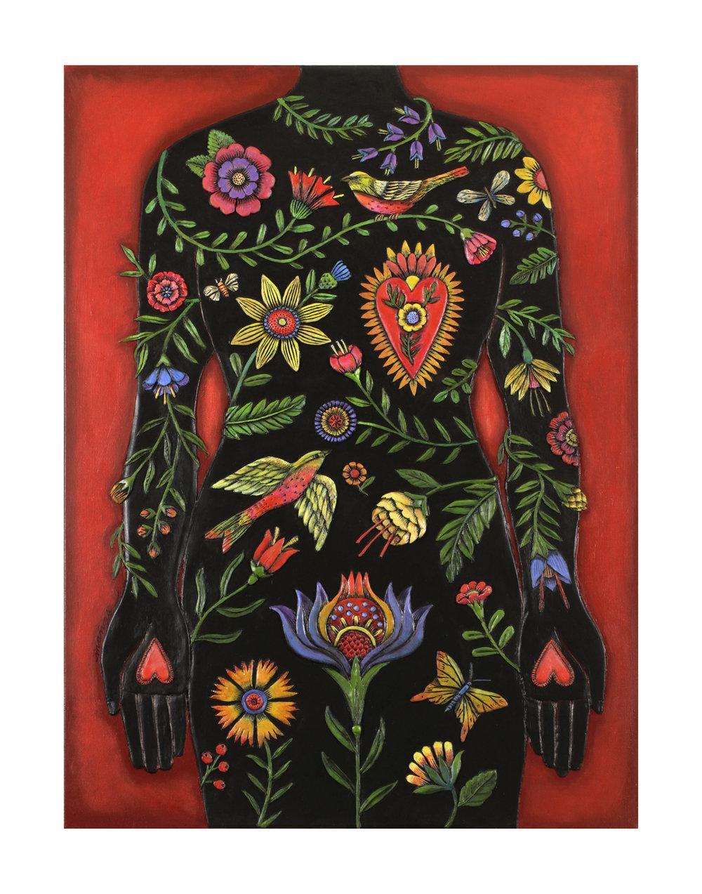 dea73b570a6 Garden of Eden Giclée Print — Rogene Manas Mixed Media Artist