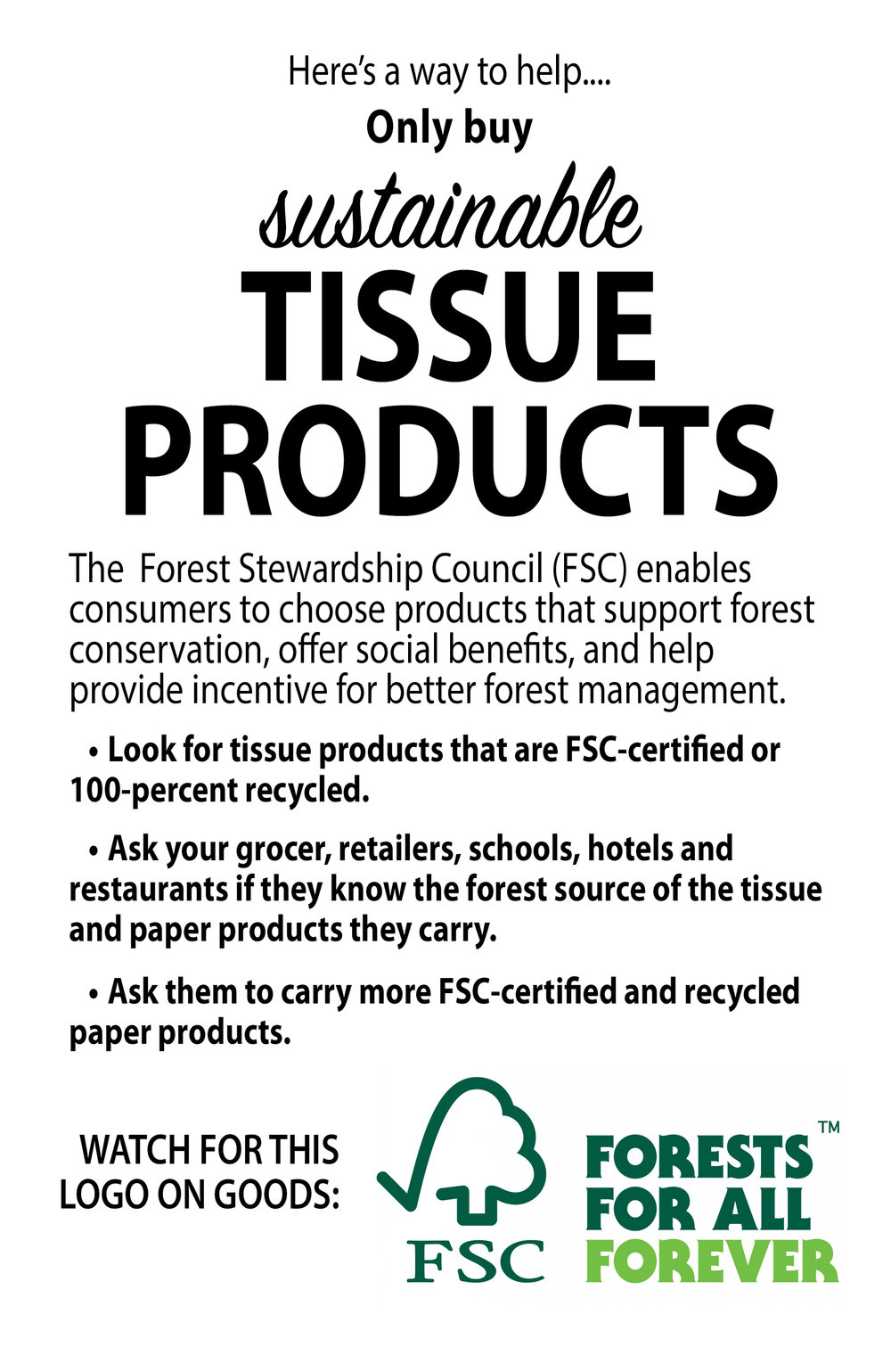 Use sustainable tissue.jpg