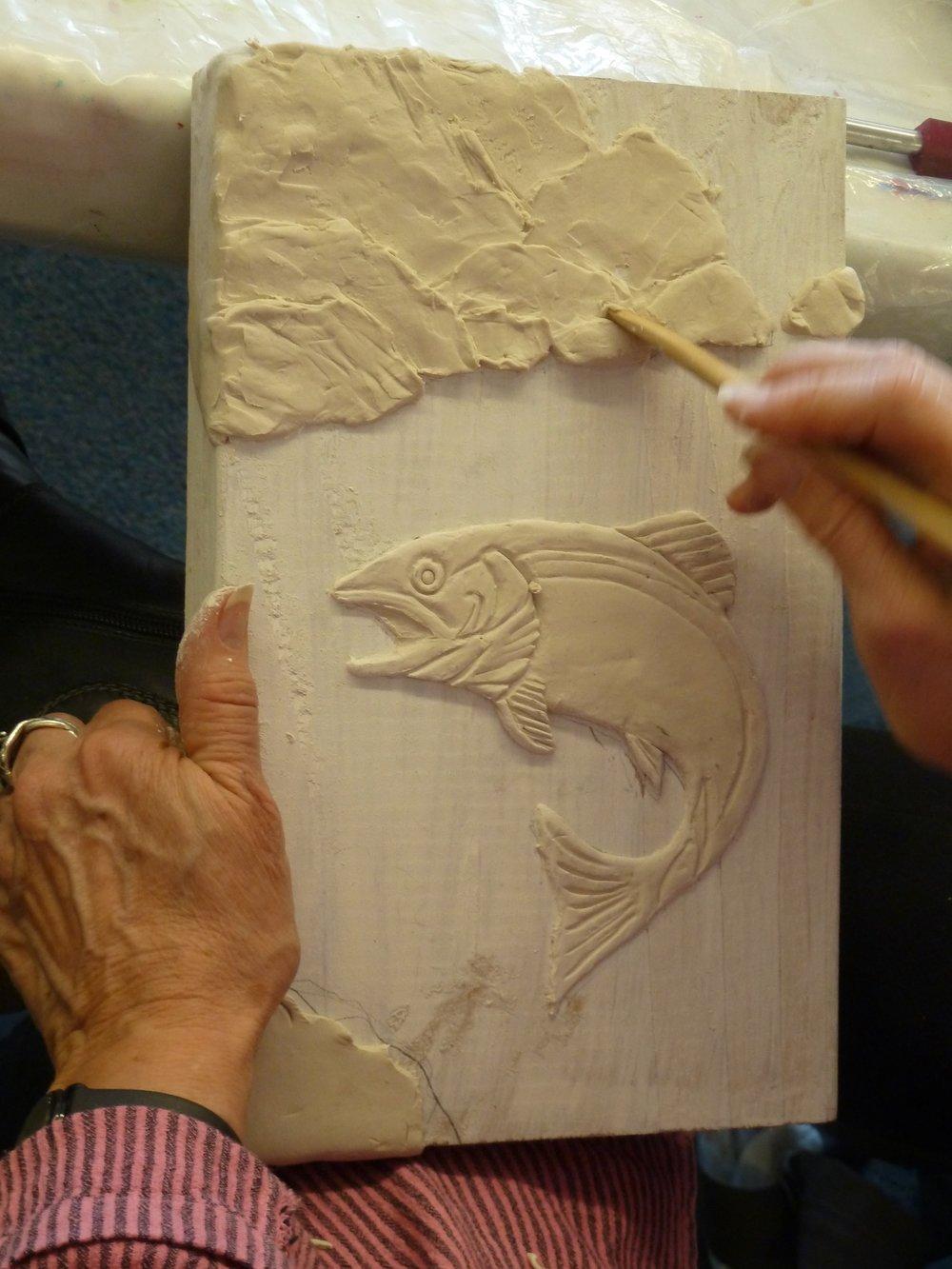 Paper clay workshop at emerald art center springfield or u rogene