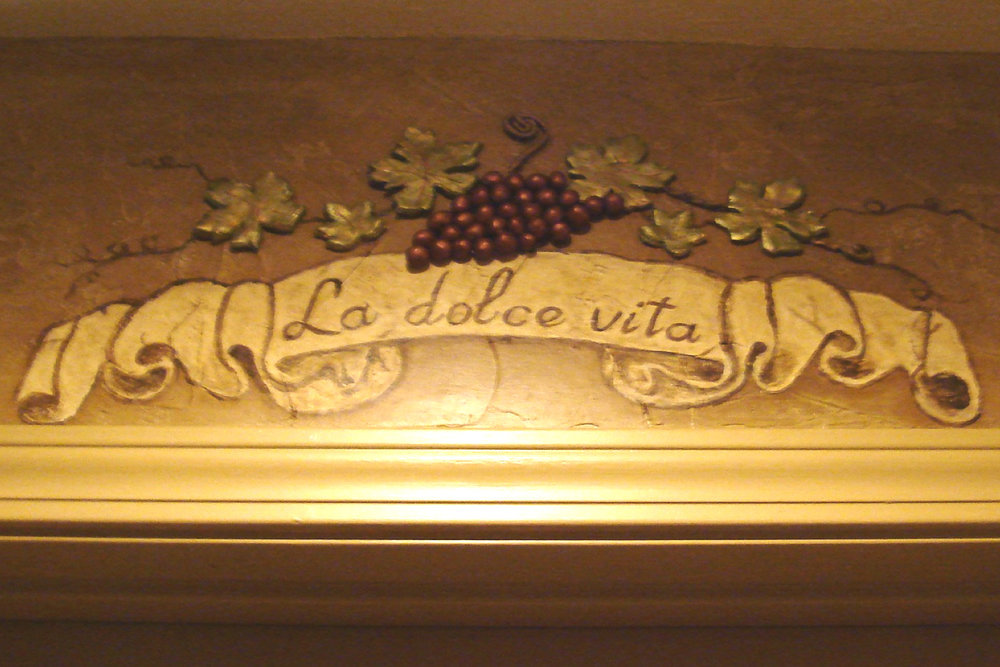 Adornment Above Pantry