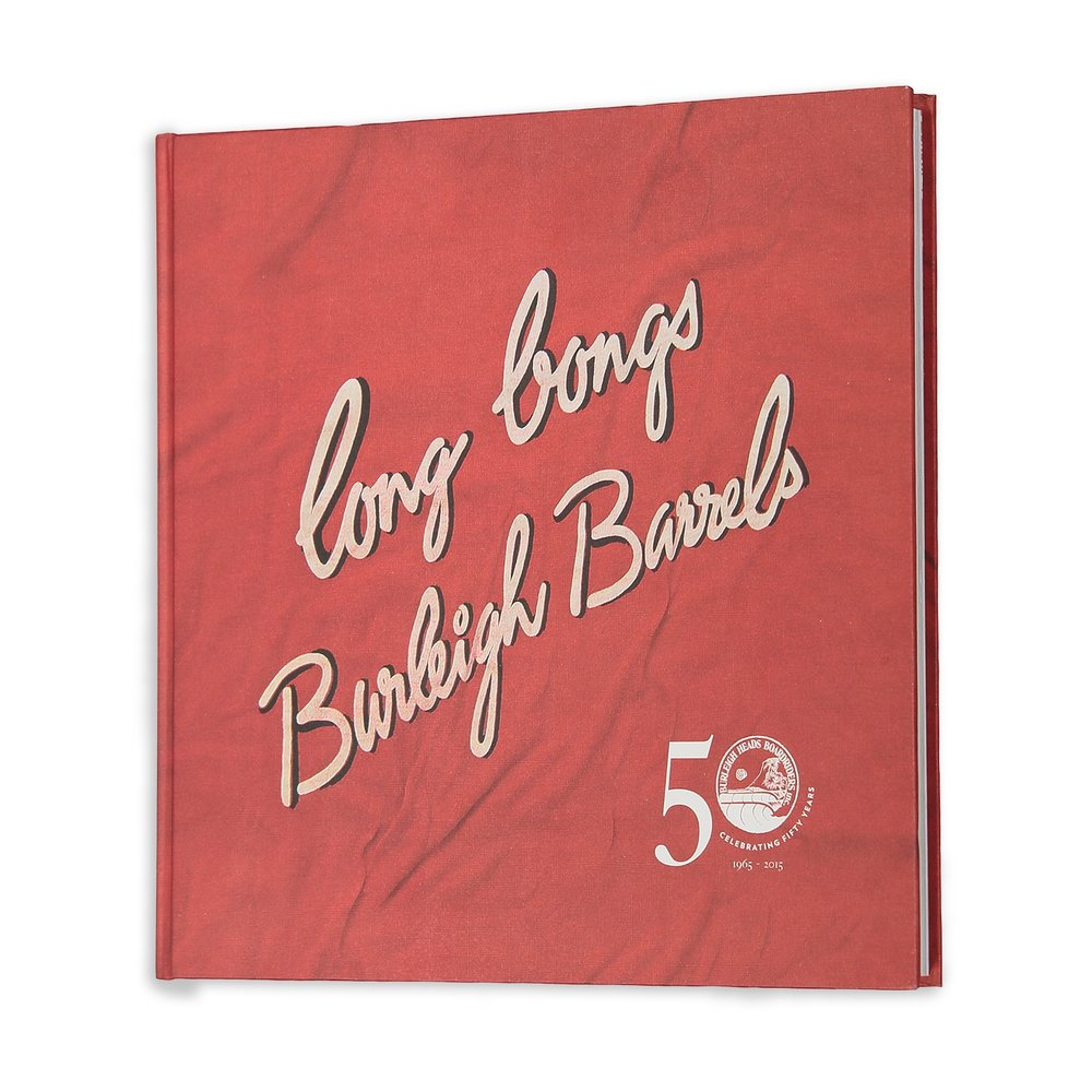 Burleigh Boardriders 50 year  Anniversary Book