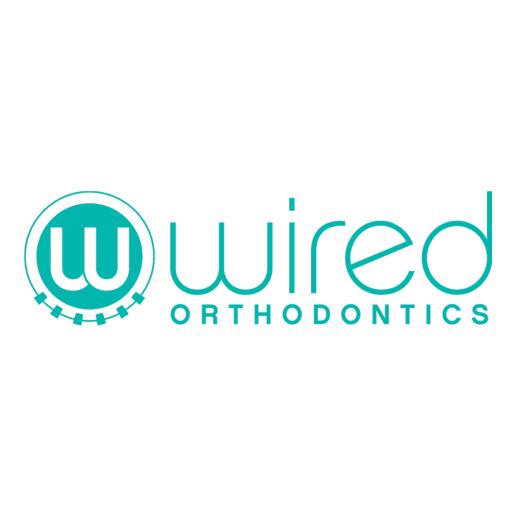 branding, logo and stationary design  for wired orthodontics