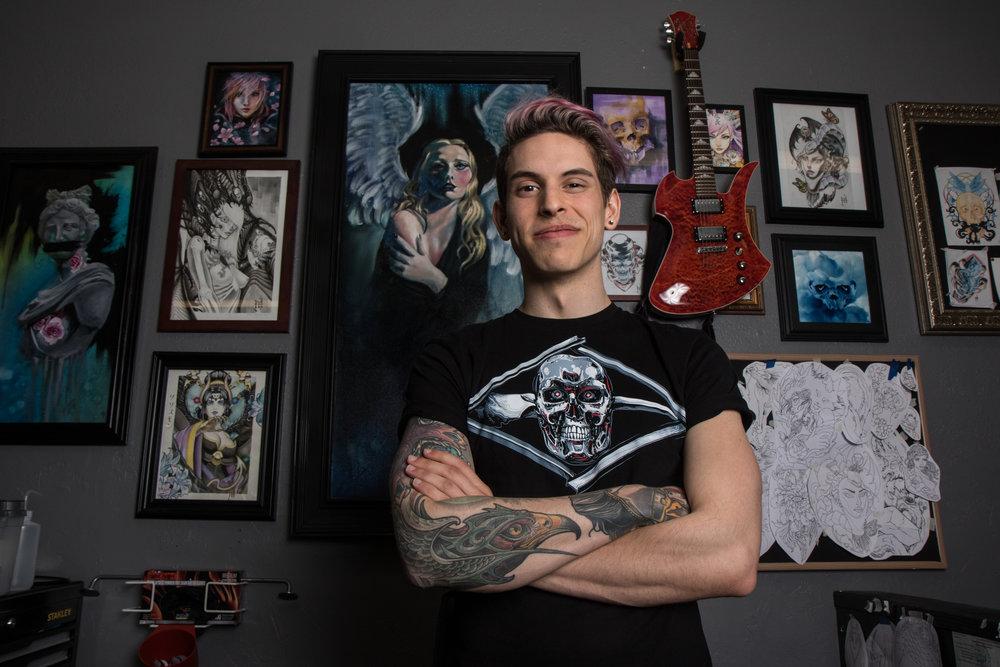 Mikal Hansen - Memento Ink - Springfield, Ore.