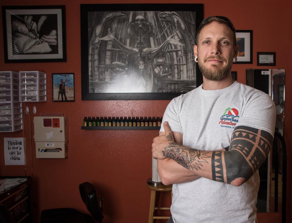 Benjamin Wolfe - Eugene Tattoo and Body Piercing - Eugene, Ore.