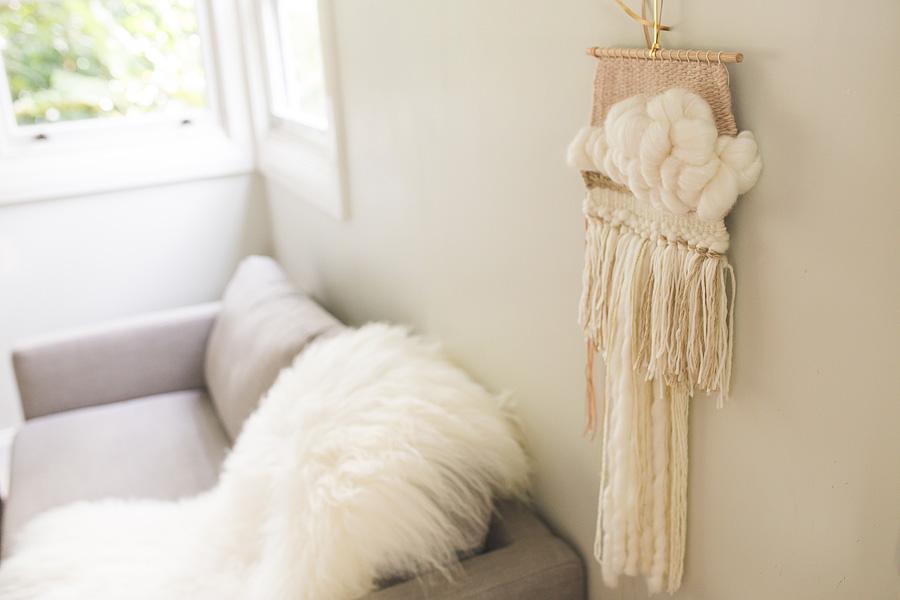 natalie jones contemporary art woven artwork blush series II 2015 woven wall hanging neutral blush.jpg
