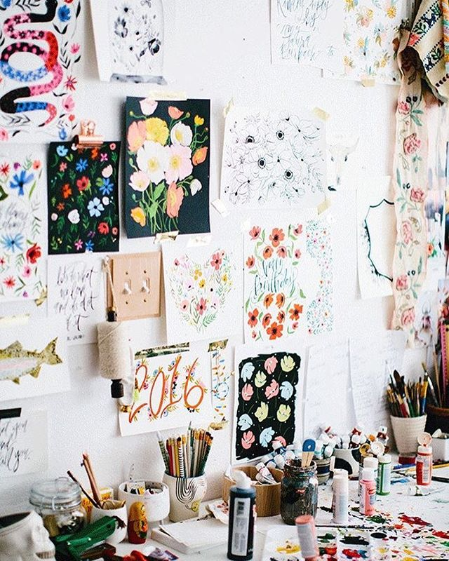 Oh my! I feel a new inspo wall coming on. 📷 / via Pinterest.