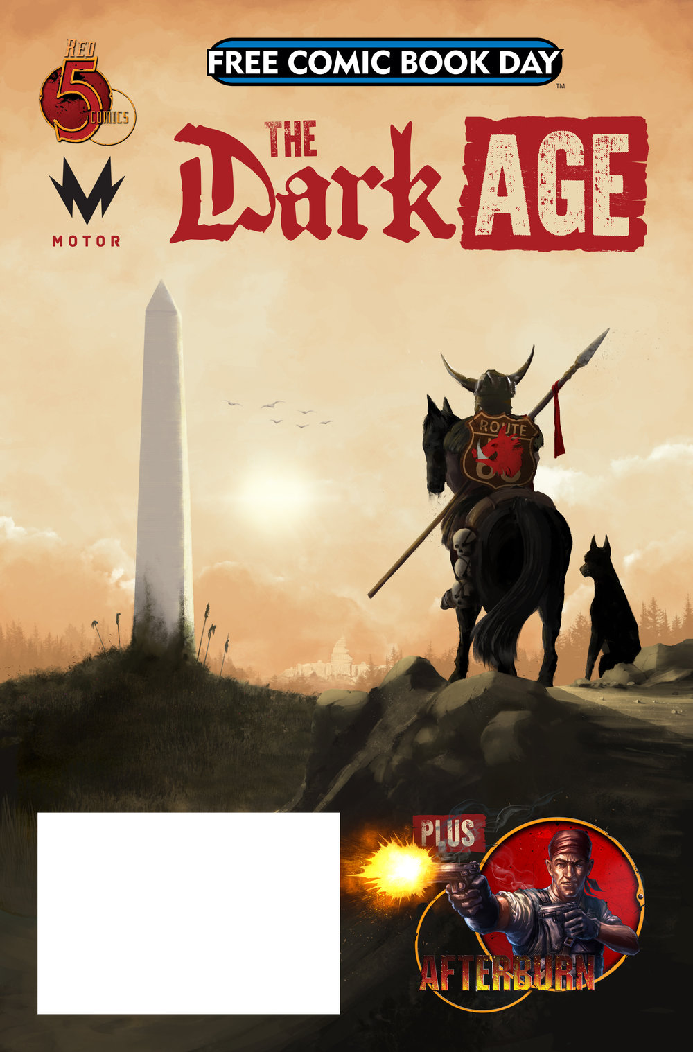 Free Comic Book Day 2019 - May 4, 2019 - The Dark Age / Afterburn