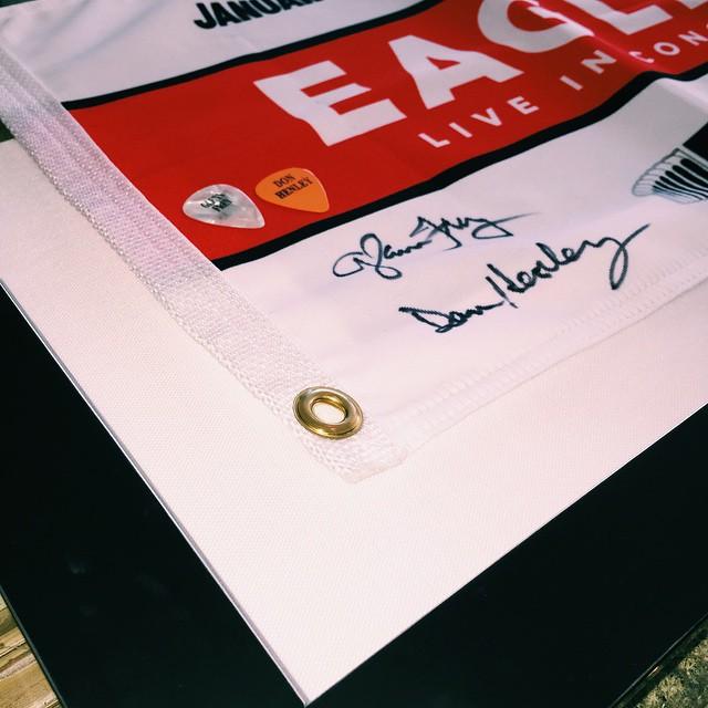 Eagles fans for life! 🎶