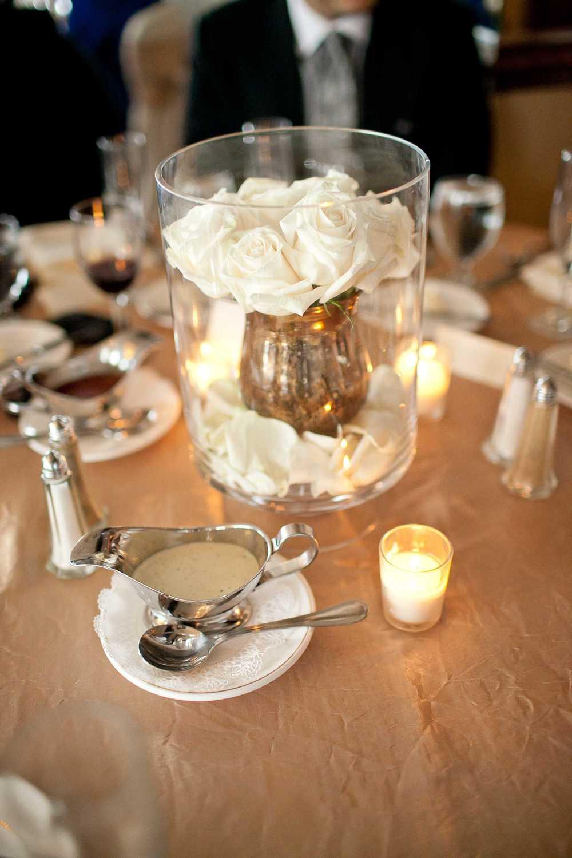 "img src=""httpwww.theparkwayevents.jpg"" alt=""San Francisco Bay Area Wedding Coordinator Centerpiece White Roses Gold Vase"".jpg"