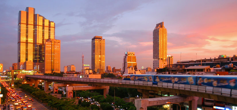 Bangkok  Image Credit: hydrocarbons-technology.com/projects/thailandptt/images/5-thailand-sunset.jpg