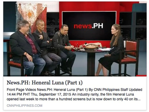 News.PH: Heneral Luna (Part 1)