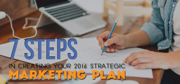 7 Steps in Creating your 2016 Strategic Marketing Plan