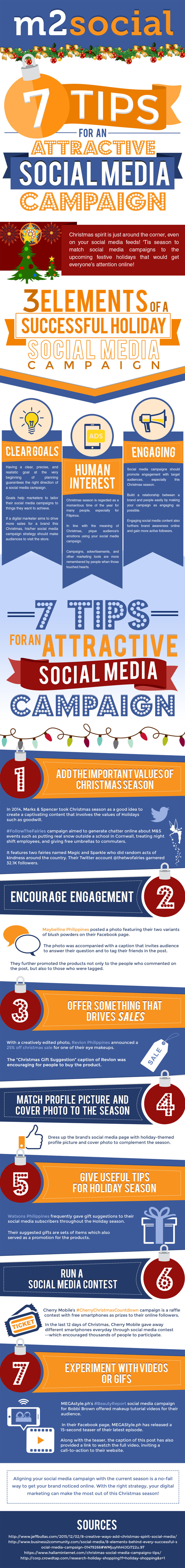 7 Tips For An Attractive Christmas Social Media Campaign