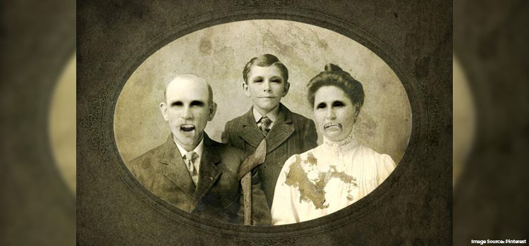 Creepy Family Photo