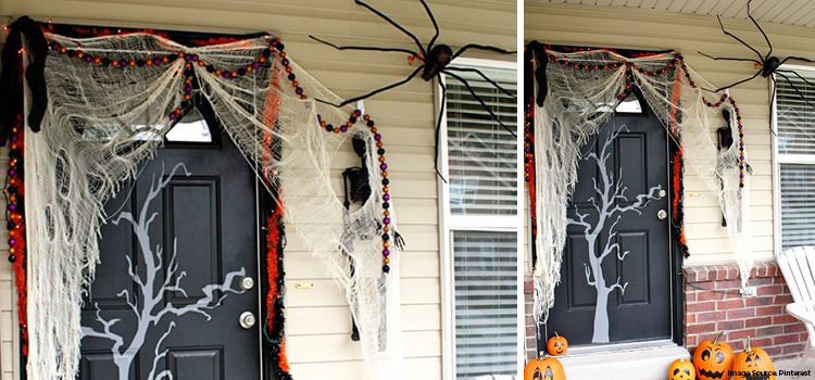 Halloween Front Door
