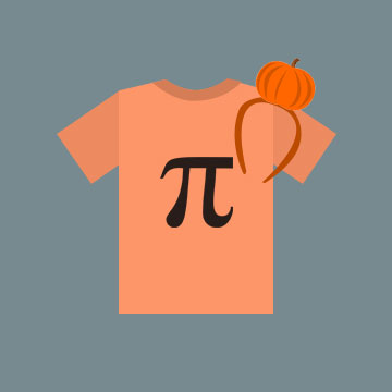 Pumpkin Pi - Halloween Costume