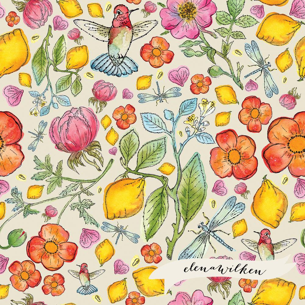 Lemons & Hummingbirds II