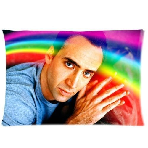 Because no one throws away a Nick Cage Pillow Case, right?