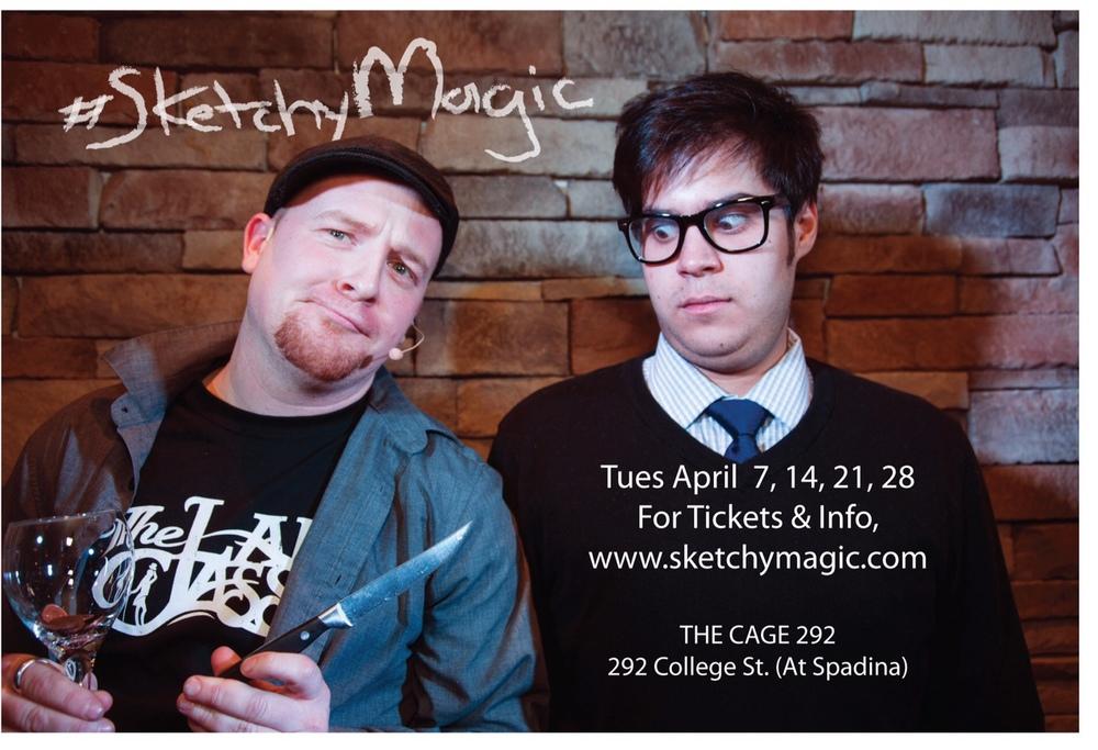 #SketchyMagic - Spring 2015