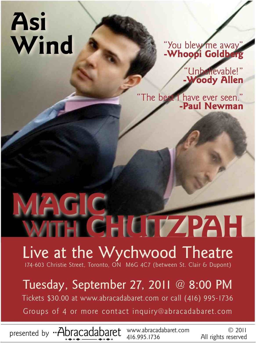 Asi Wind - Magic With Chutzpah - 2011