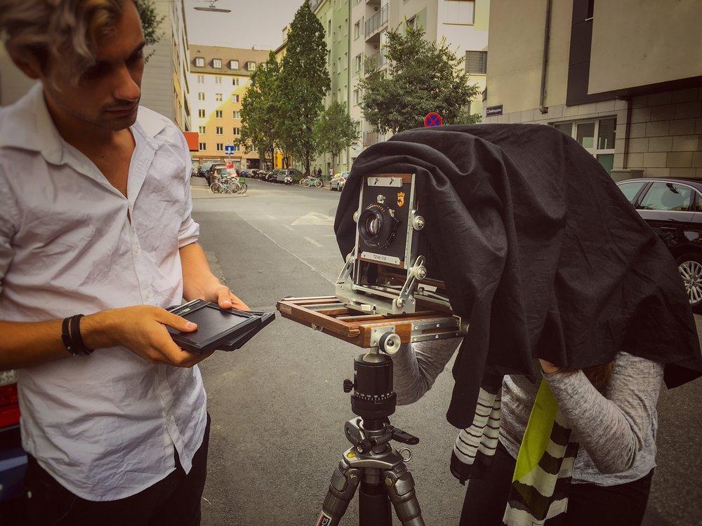 LIK Masterclass künstlerische Fotografie Wien 2016 - Modul Analog
