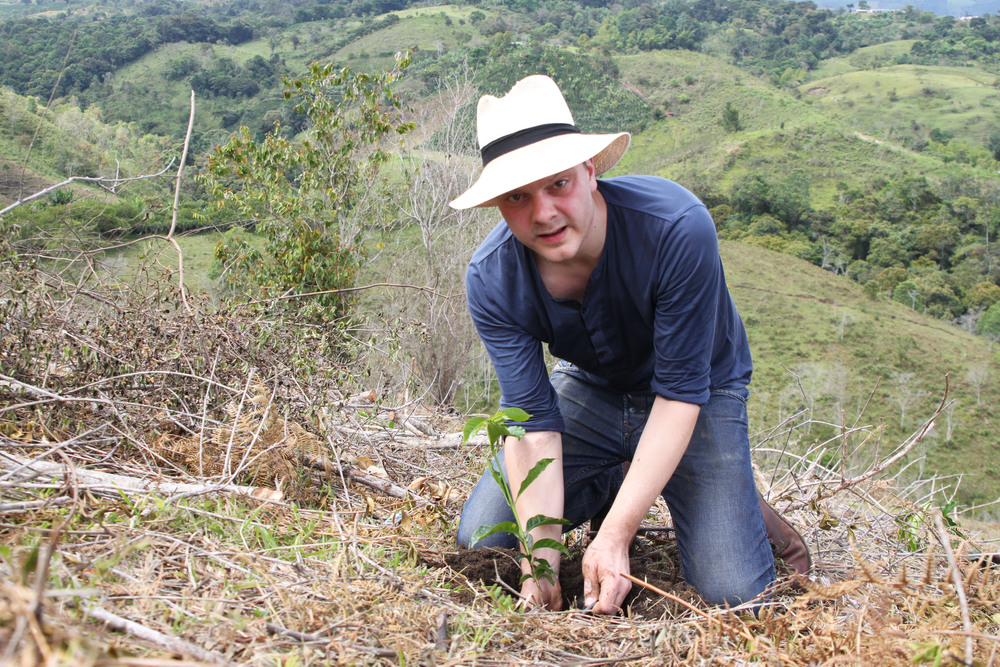 Tim planting typica in February 2015.jpg