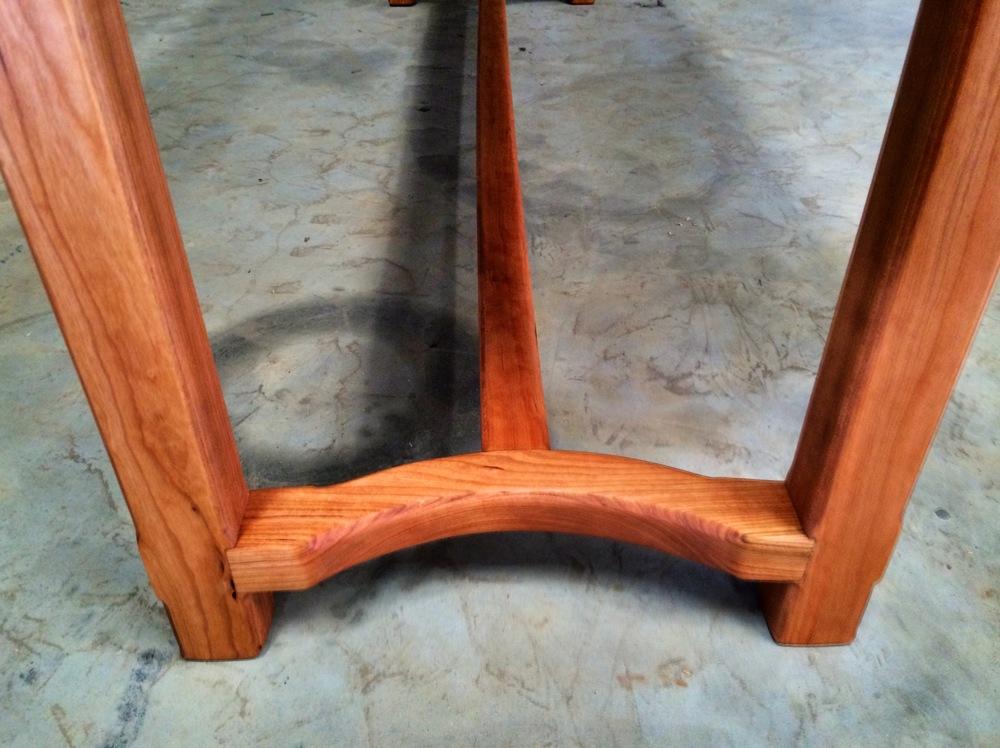 "Solid Appalachian Cherry  84""L x 20""W X 30""H Sofa Table  Natural Finish  Sealed in European Harding Oil  Birmingham"