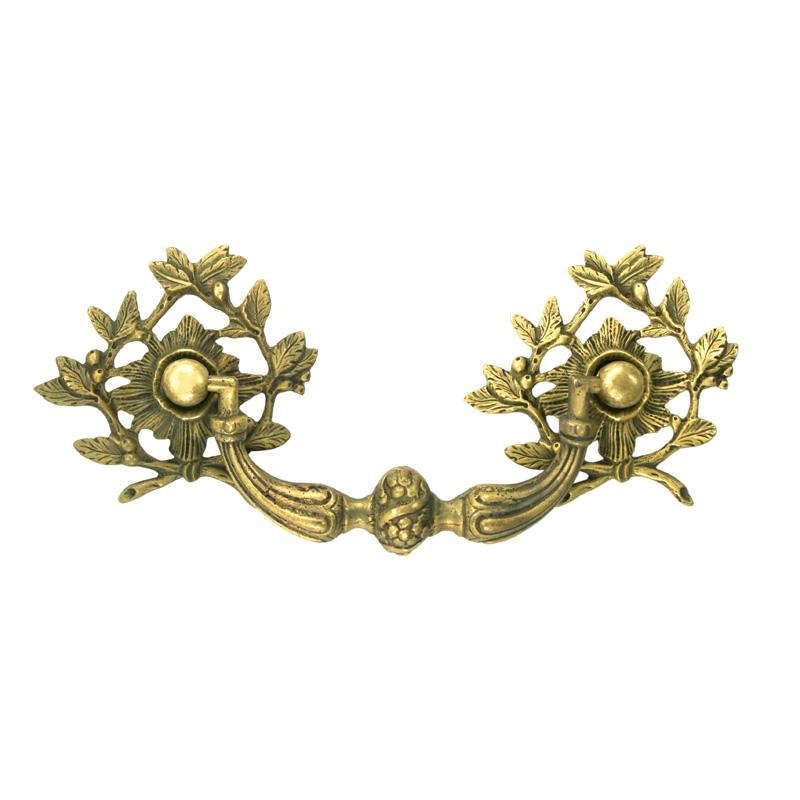 Polished Brass, Drop Handle