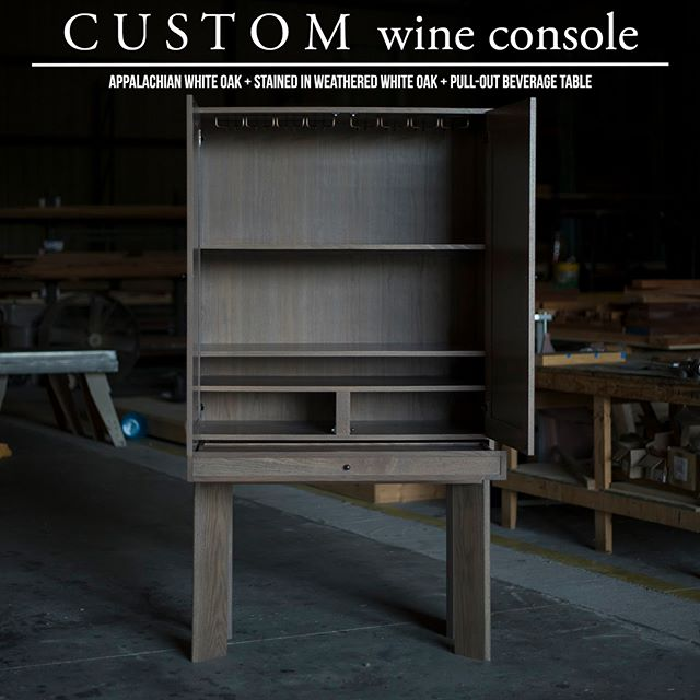 We have created a culture that is focused on solving problems and simplifying the lives of our clients.  The quintessence of excellence. A wine console designed to house aging bottles as well as conveniently pour a drink with friends or a personal glass after a long week; all in one location.