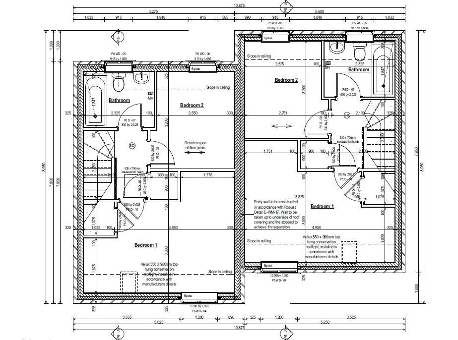 Plot 56 Upstairs Plan.JPG