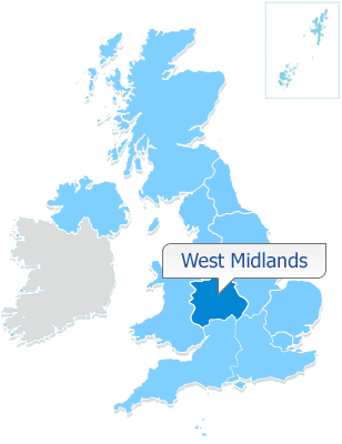 WEST MIDLANDS 50% shares available from £55,000