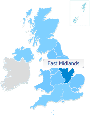 EAST MIDLANDS    25% shares available from £43,748