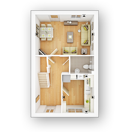 Taylor Wimpey - 2 bedroom new home - The Fircroft GF.jpg