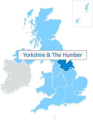 YORKSHIRE & THE HUMBER   50% shares available from £90,498