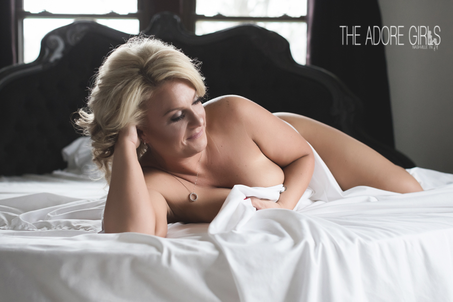 The Adore Girls Boudoir Photography sheet shot