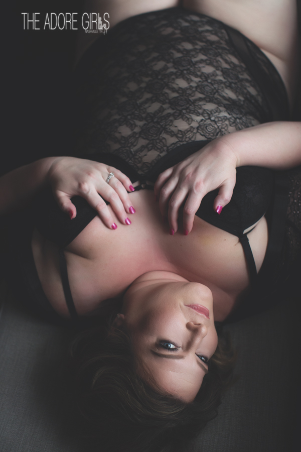 0152  Boudoir-Photography-The Adore Girls-Nashville black lace