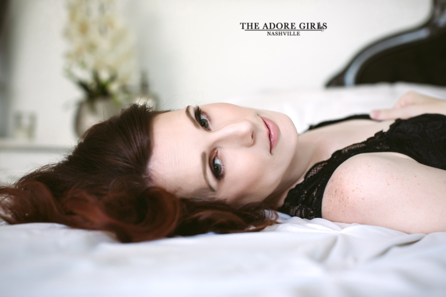 The Adore Girls Boudoir Photography Nashville head shot
