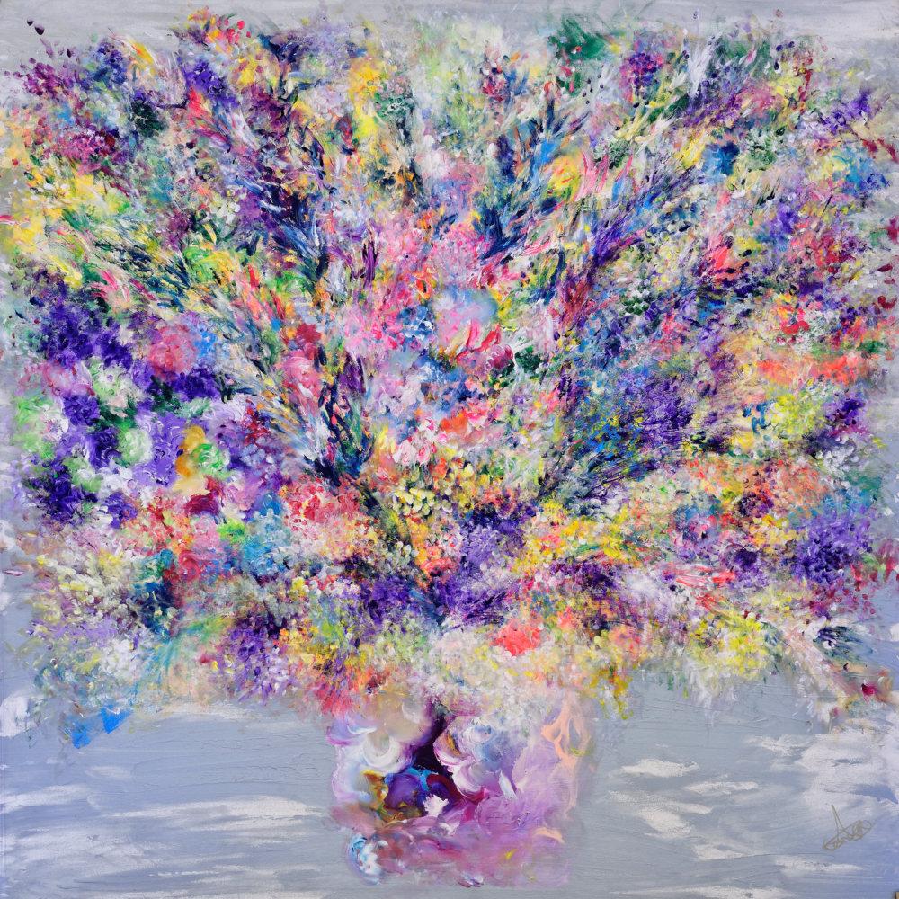 ARTTAG circle I Adeline Yeo I My Everlasting Treasure 2015 | Original Painting (Framed)
