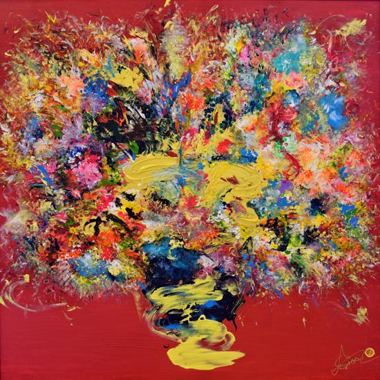 ARTTAG circle I Adeline-Yeo I Abundant Joy I 2015 I Acrylic on Canvas I 150cm x 150cm.jpg