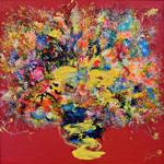 Adeline YeoI Abundant JoyI Original Painting