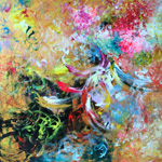Adeline YeoI  Phoenix Series No. 2I Original Painting