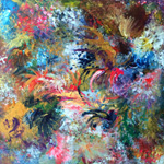 Adeline YeoI  Phoenix Series No. 3I Original Painting