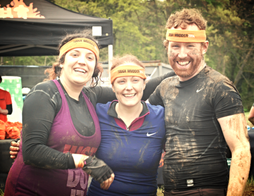 Kris and Ben do tough mudder