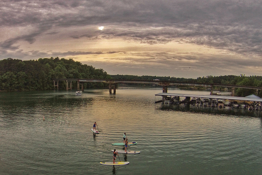 Smith Lake Paddle Board
