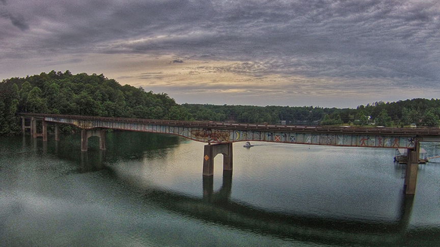 Big Bridge on Smith Lake
