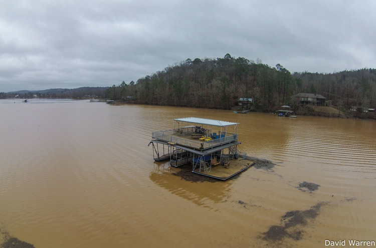 Flooding from Cullman, Alabama