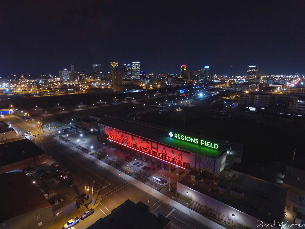 Regions Field Birmingham Alabama | Aerial Photography