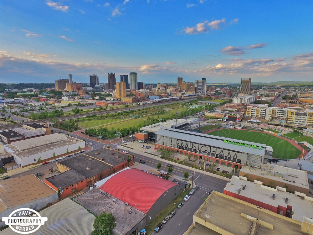 Birmingham, Alabama Aerial Photography