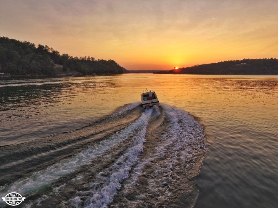 Sunset Cruise on Smith Lake